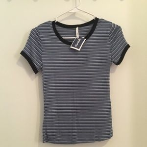 Soft Striped Blue and white tee